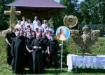 Dożynki parafialne w Burkartowie