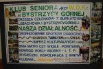 Klub Seniora z Bystrzycy Górnej - tablica Seniorów