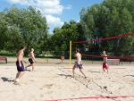 foto: zawody siatkówki plażowej w Grodziszczu - rok 2012