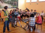 foto: TVP Wrocław w Witoszowie - audycja z Zespołem AleBabki