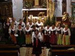 fot. Zespół Śpiewaczy ALE BABKI w kościele w Bystrzycy Górnej