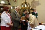 fot.: Podziękowanie za plony w parafii w Mokrzeszowie