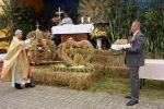 fot.: Poświęcenie plonów podczas Dożynek Parafialnych w Lutomi