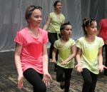 fot.: Występ Zespołu Mały Boleścin w sali Teatru Świdnickiego Ośrodka Kultury