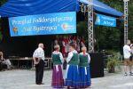 fot.:  VII Przegląd Folklorystyczny - Nad Bystrzycą - scena