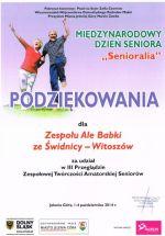 Senioralia 2014 - Jelenia Góra