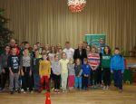 Uczestnicy akcji Ferie na Sportowo