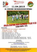 plakat II Crossu Mokrzeszowskiego