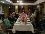 foto: Spotkanie opłatkowe Klubu Seniora z Bystrzycy Górnej - restauracja pensjonatu Chata Nad Sztolnią