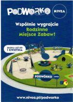 Plakat konkursu PODWÓRKO NIVEA