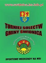 Plakat Turnieju Sołectw 2015 - Sportowe Weekendy na Wsi