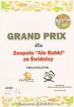 Grand Prix przeglądu w Międzyzdrojach dla Zespołu ALE BABKI