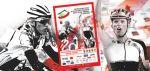 Plakat Mistrzostw Polski w Kolarstwie Szosowym