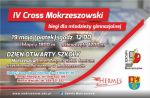 IV Cross Mokrzeszowski - plakat