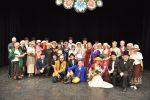 foto: Zespół MOKRZESZÓW oraz władze Gminy Świdnica współnie na scenie