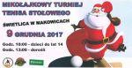 Plakat turnieju tenisa stołowego w Makowicach