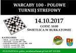 plakat-Turniej warcab 100-polowych w Burkatowie