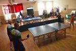 foto: Rozgrywki tenisa stołowego na świetlicy wiejskiej w Makowicach