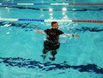 foto: Ćwiczenia Ochotniczej Straży Pożarnej w Witoszowie Dolnym na basenie