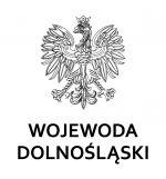 Orzeł, poniżej napis Wojewoda Dolnośląski