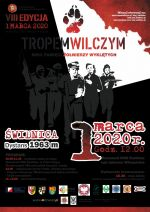 Plakat - Bieg Pamięci Żołnierzy Wyklętych
